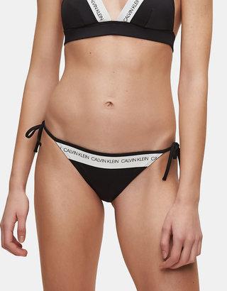 Čierny dámsky spodný diel plaviek Calvin Klein Underwear