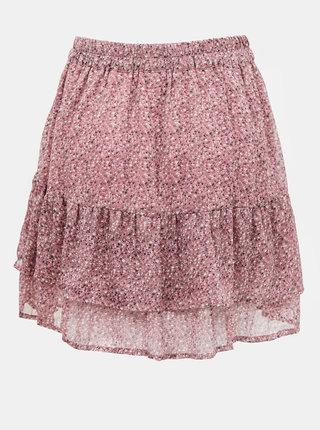 Fialová vzorovaná sukňa Jacqueline de Yong