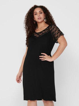 Černé šaty ONLY CARMAKOMA