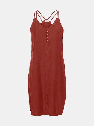 Vínové šaty Noisy May
