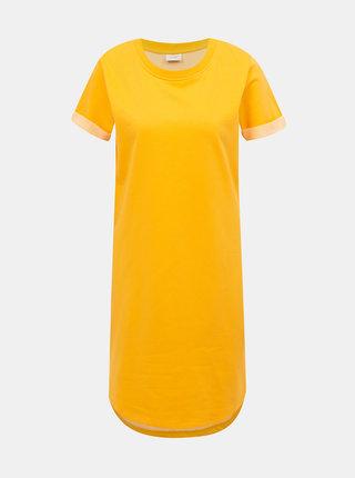 Žluté basic šaty Jacqueline de Yong