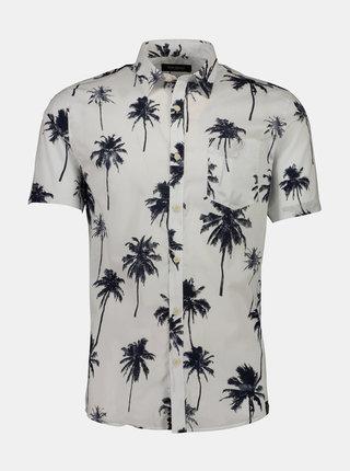 Biela vzorovaná košeľa Shine Original