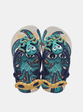 Modré klučičí sandály Ipanema