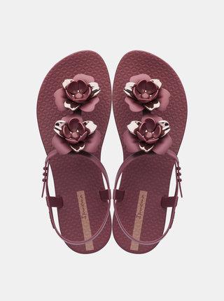 Vínové dámske sandále Ipanema