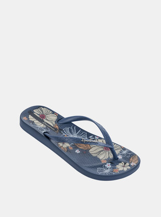 Modré dámske žabky Ipanema