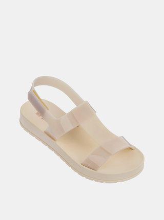 Světle růžové dámské sandály Zaxy