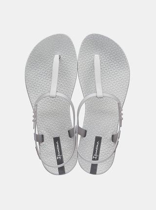 Metalické sandálky v striebornej farbe Ipanema Class Exclusive