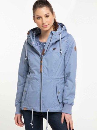 Světle modrá dámská nepromokavá bunda Ragwear Danka