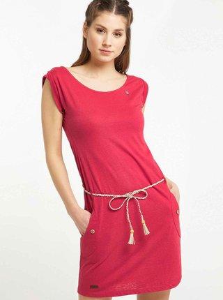 Červené šaty Ragwear Tag