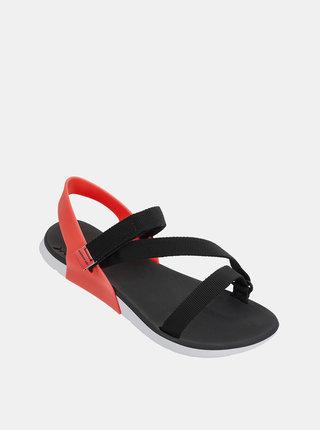 Černé dámské sandály Rider