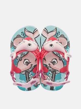 Růžové holčičí sandály Ipanema