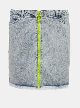 Modrá džínová sukně ONLY
