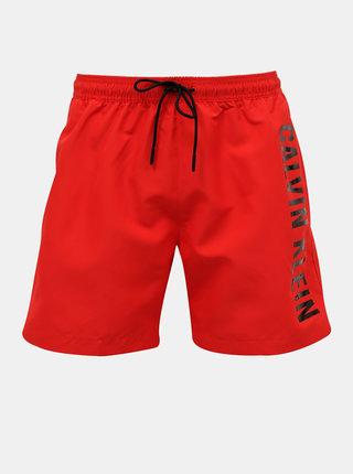 Červené pánske plavky Calvin Klein Underwear