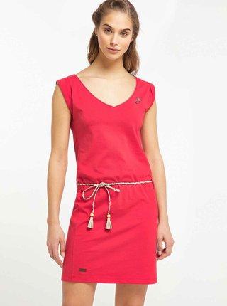 Červené šaty Ragwear Slavka