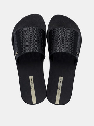 Čierne dámske šľapky Ipanema