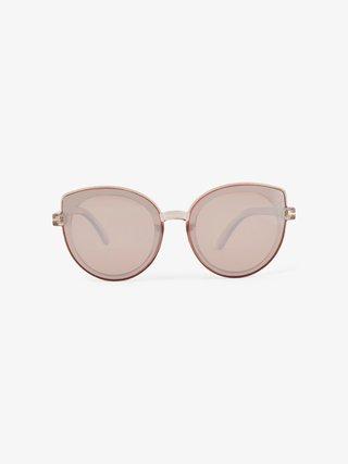 Staroružové slnečné okuliare Pieces Natalia