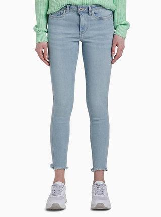 Světle modré dámské push up skinny fit džíny Tom Tailor Denim Nela