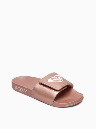 Starorůžové pantofle Roxy