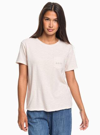 Světle růžové tričko Roxy