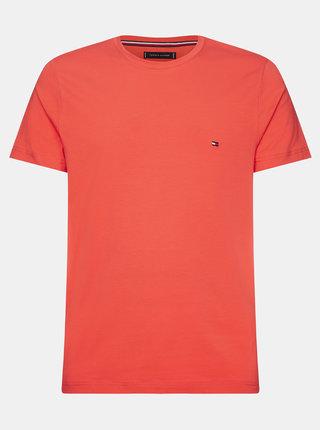 Červené pánské basic tričko Tommy Hilfiger