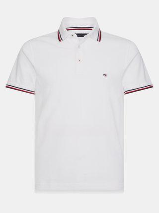 Bílé pánské polo tričko Tommy Hilfiger