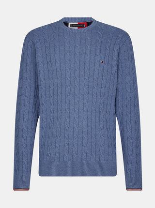 Modrý pánsky sveter Tommy Hilfiger