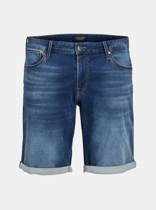 Tmavě modré džínové kraťasy Jack & Jones Rick