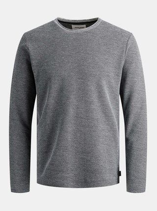 Šedý basic sveter Jack & Jones Dylan