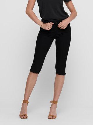 Černé 3/4 kalhoty Jacqueline de Yong Nikki