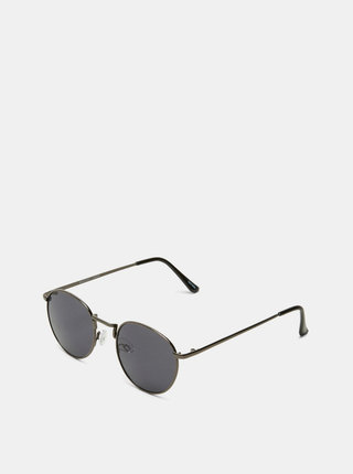 Tmavě šedé pánské sluneční brýle Selected Homme Lyn