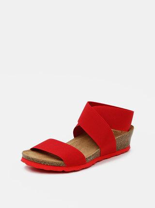 Červené dámské sandálky OJJU