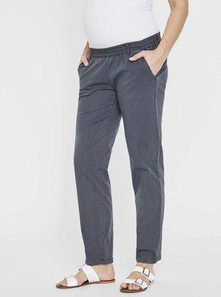 Šedomodré těhotenské kalhoty Mama.licious Playa
