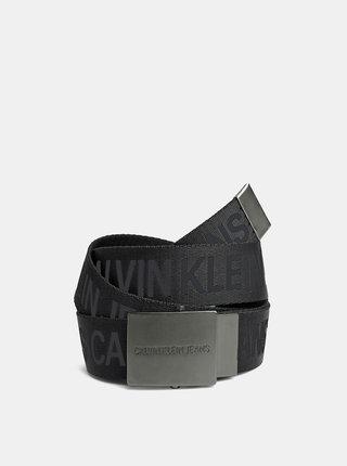 Černý pánský pásek Calvin Klein Jeans