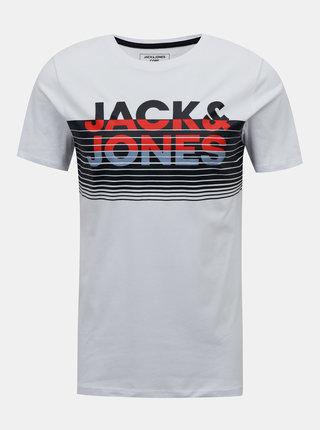 Biele tričko Jack & Jones Brix
