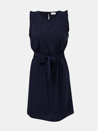 Tmavě modré šaty VILA Alinnia
