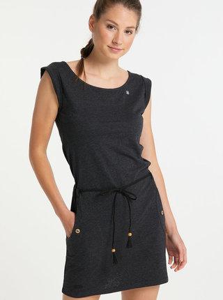 Černé šaty Ragwear Tag