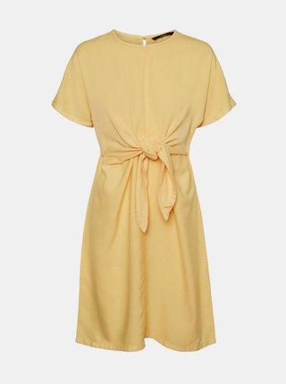 Žluté šaty VERO MODA Laura