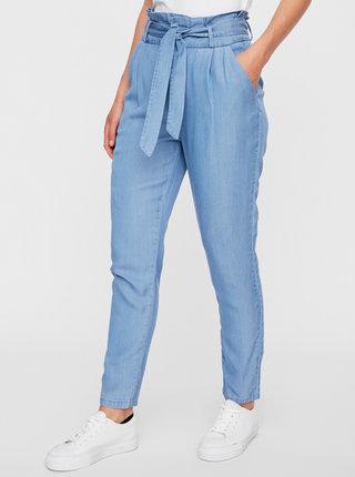 Světle modré kalhoty VERO MODA Eva