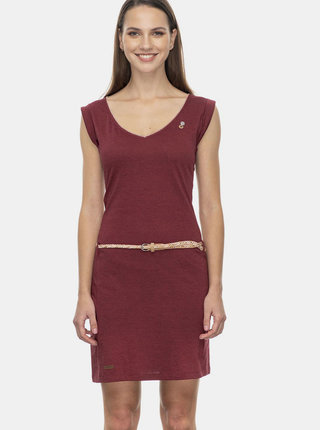 Vínové šaty Ragwear Slavka