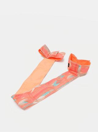 Oranžová gumička na podložku na jógu prAna