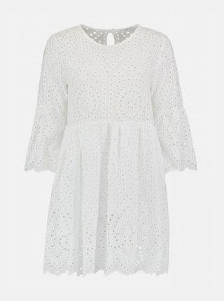 Biele šaty s madeirou Haily´s Charlot