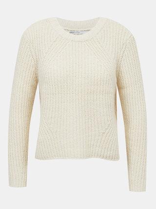 Krémový sveter ONLY