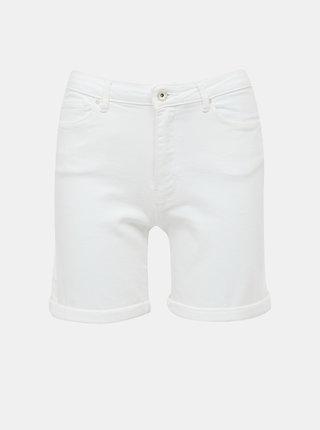 Bílé džínové kraťasy ONLY Paola