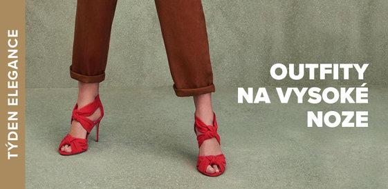 Týden elegance: Outfity na vysoké noze