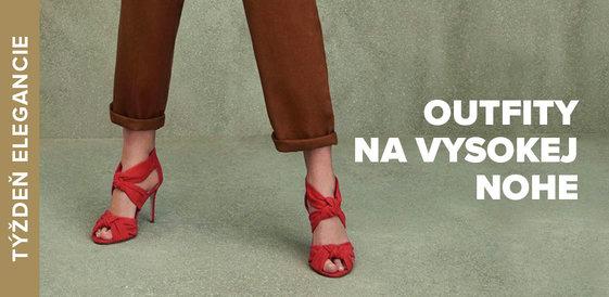Týždeň elegancie: Outfity na vysokej nohe