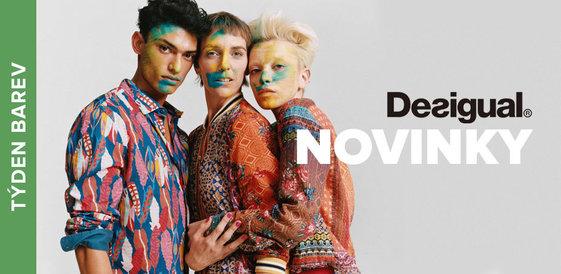 Týden barev: Novinky od Desigual