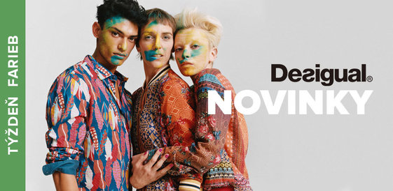 Týždeň farieb: Novinky od Desigual