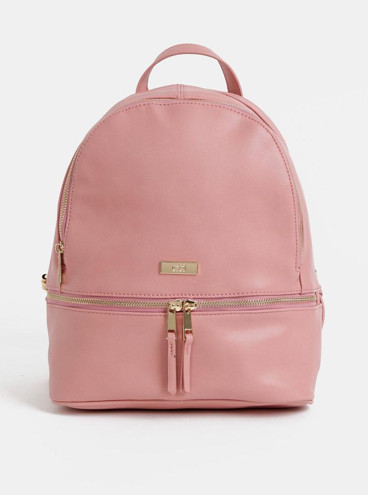 07224a3e023b0 Svetlosivý koženkový batoh s predným vreckom ZOOT | ZOOT.sk