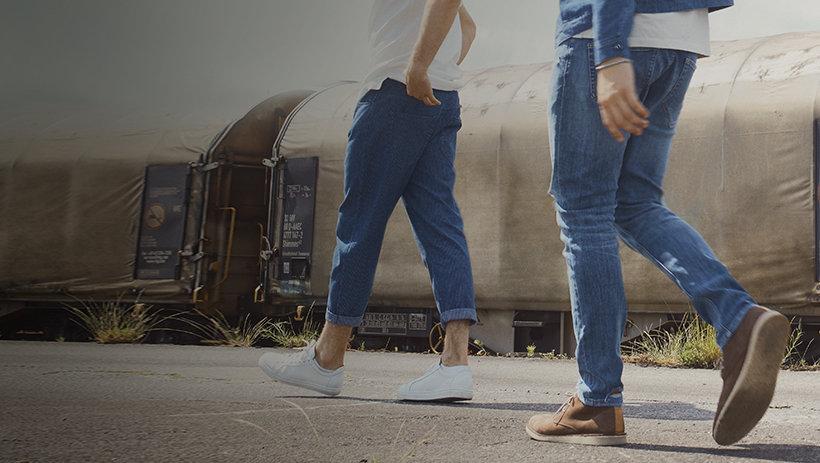 30% sleva na džíny, kalhoty a kraťasy