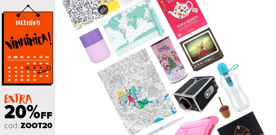 Gadgeturi, postere de colorat și alte lucrușoare drăguțe